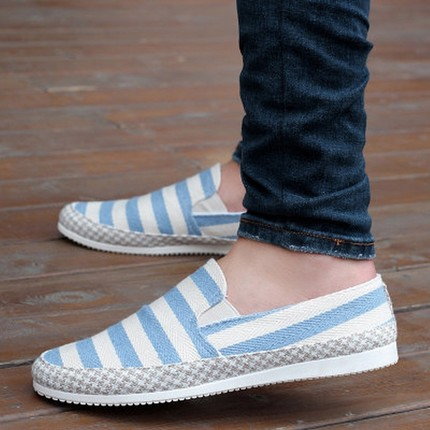 2018 Canvas shoes summer breathable beans shoes, men's casual linen cloth shoes, outdoor comfortable lightweight shoes 6