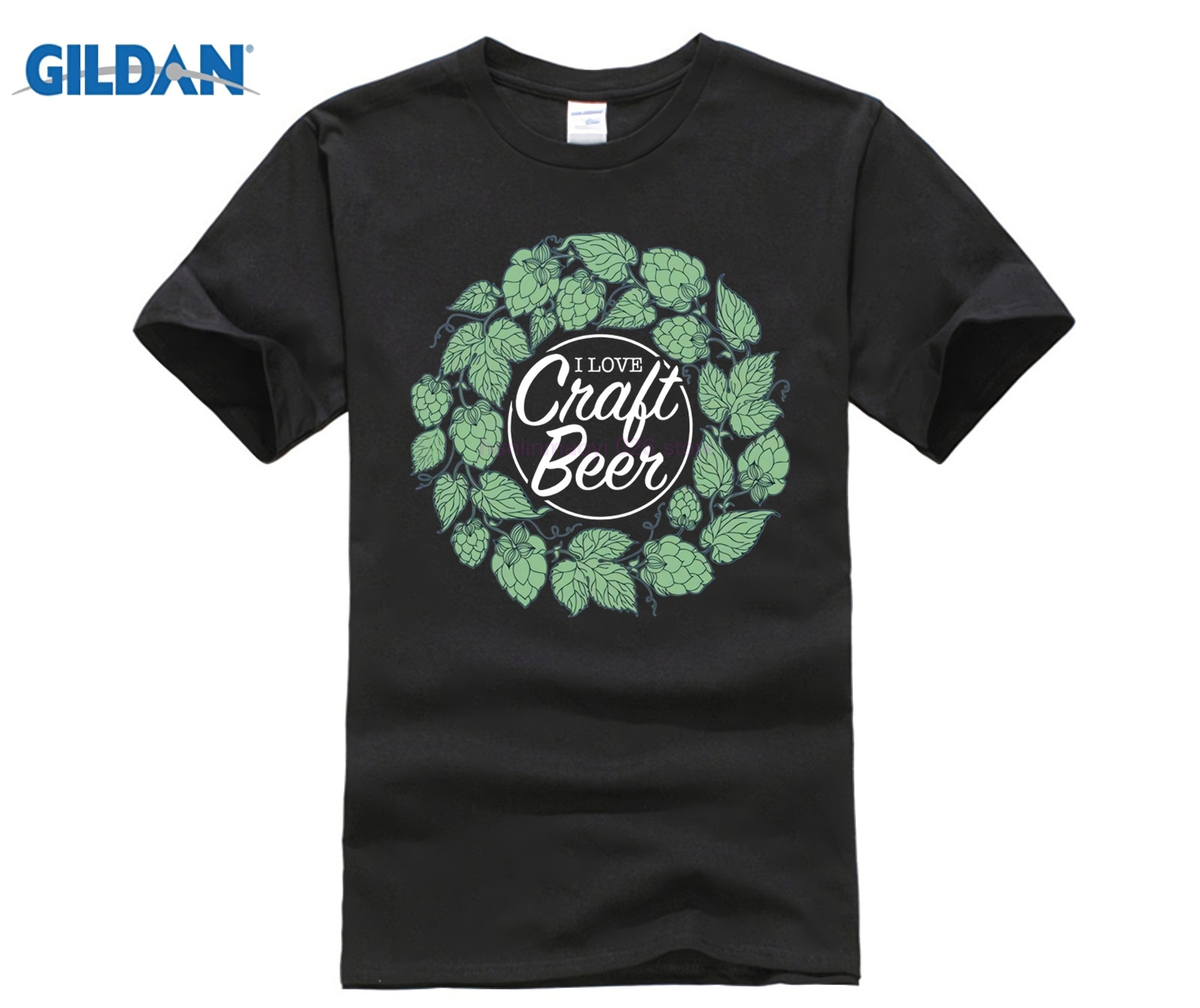 cotton O neck printing fashion T shirt I Love Craft Beer T Shirt Slogan in T Shirts from Men 39 s Clothing
