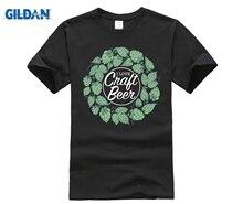cotton O-neck printing fashion T shirt I Love Craft Beer Shirt Slogan