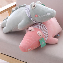New Style Lovely Crocodile Plush Toy Stuffed Animal Doll Pillow Toys Children Creative Gift
