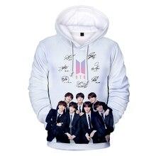 3D BTS Bangtan Boys casquillo de las mujeres Hoodies sudadera parejas  mujeres hombres Kpop Hip Hop Harajuku Streetwear invierno . 808bccbe8d7