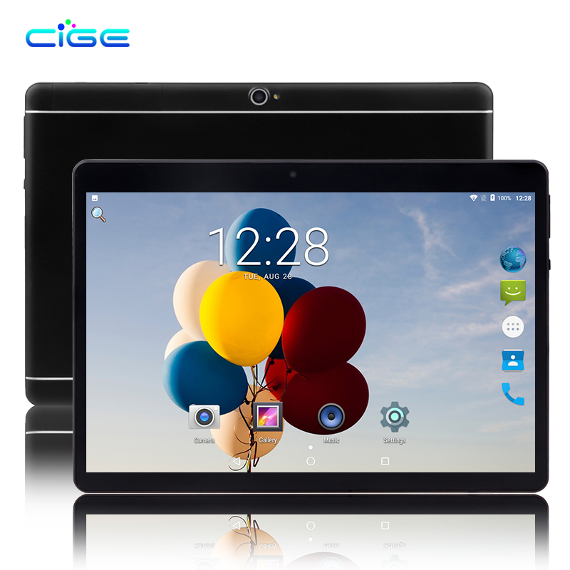CIGE 10.1 inch 3G 4G LTE 1280x800 Android Tablet PC Octa Core 4GB RAM 32GB ROM Dual SIM Phone Call Tablets WIFI GPS Bluetooth 10 inch k107se 3g tablet pc android tablet pcs phone call octa core 4gb ram 32gb rom dual sim gps ips fm bluetooth tablet