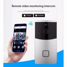 Hot sales Smart Home system Wireless WIFI Doorbell 720P video intercom Infrared night vision waterproof security camera Apps use