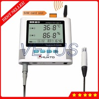 S520 EX GSM 2 Channel GSM Temperature Humidity Data Logger with 3 meters cable External Sensor 6,5000 datalogger Capacity