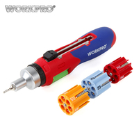 Workpro 24 In 1 Auto Loading Ratcheting Multi Bit Screwdriver