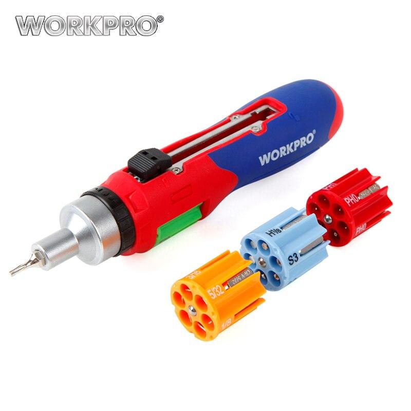 WORKPRO 24 in 1 Auto Loading Screwdriver Repair Tool Kits Multi Bits Sets