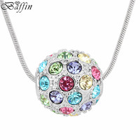 High Quality Colorful Ball Choker Necklaces Made With Swarovski Elements Crystals From Swarovski Fashion Jewelry For