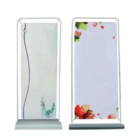 Customized Banner Exhibition Booth Display Stand hanging Backdrop poster board In 60/80/120 x 160/180/200 CM