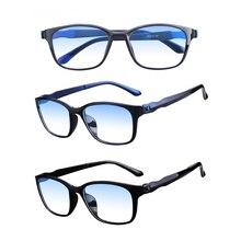 UnisexUV400Anti-fatigue очки для чтения анти-голубые очки гибкие ультралегкие компьютерные очки радиационная защита