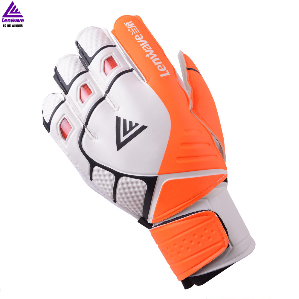 Lenwave New Soccer Goalkeeper Gloves Finger Protection ...
