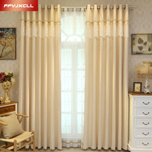 Simple Modern Solid Color Blackout Curtain Cloth For living Room Bedroom Kitchen Window Treatment Drapes Tulle floral curtain for living room print voile for window bedroom linen curtain blackout drapes kitchen treatment pastoral x513 30