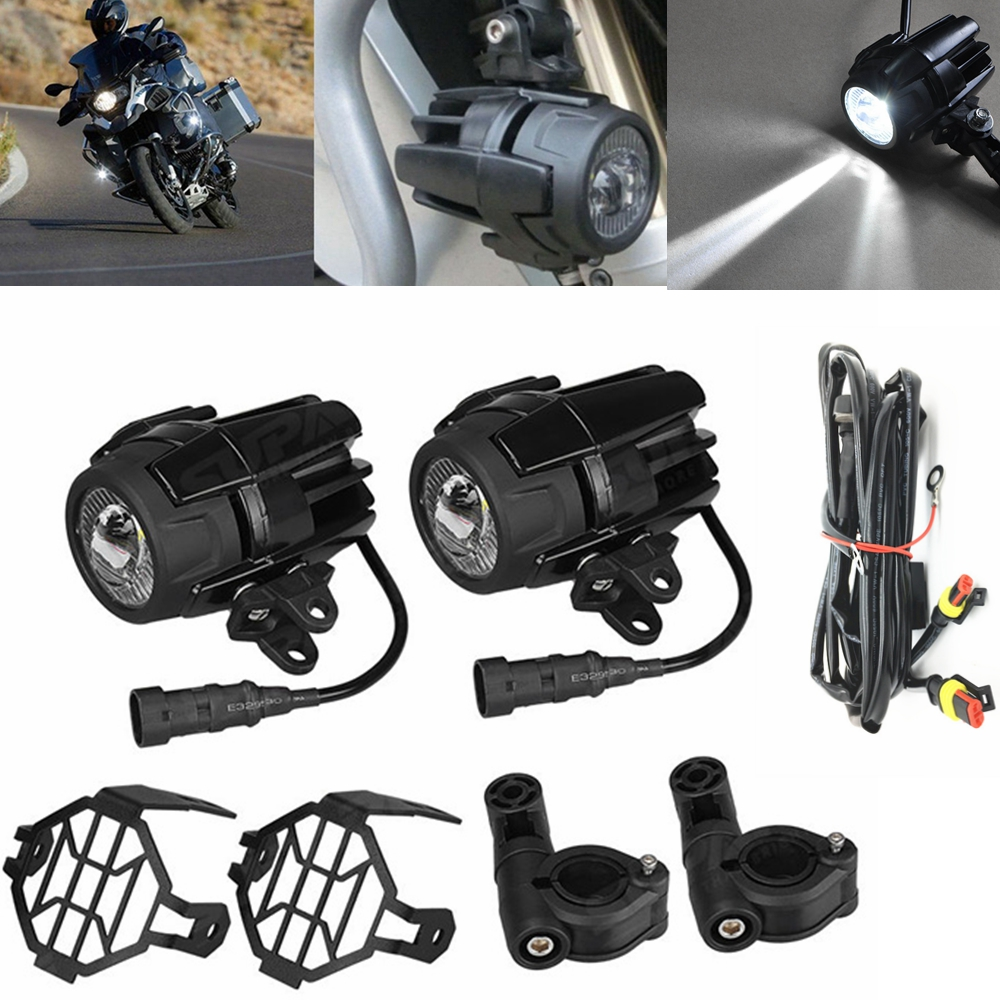For BMW R1200GS Front Brackets for Led Driving Lights for BMW R 1200 GS Adventure LC 2014 2015 2016 Motorcycle Accessories Parts front head light driving aux lights fog lamp assembly for bmw r1200gs lc adv f800 f750 f650 r1150 gs motorcycle accessories