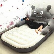 Большой татами Тоторо Большая мягкая кровать ленивый диван простыня пара мультфильм домашний отдых диван татами