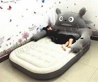 Большой матрас татами Тоторо Большая мягкая кровать ленивый диван простыни пара мультфильм