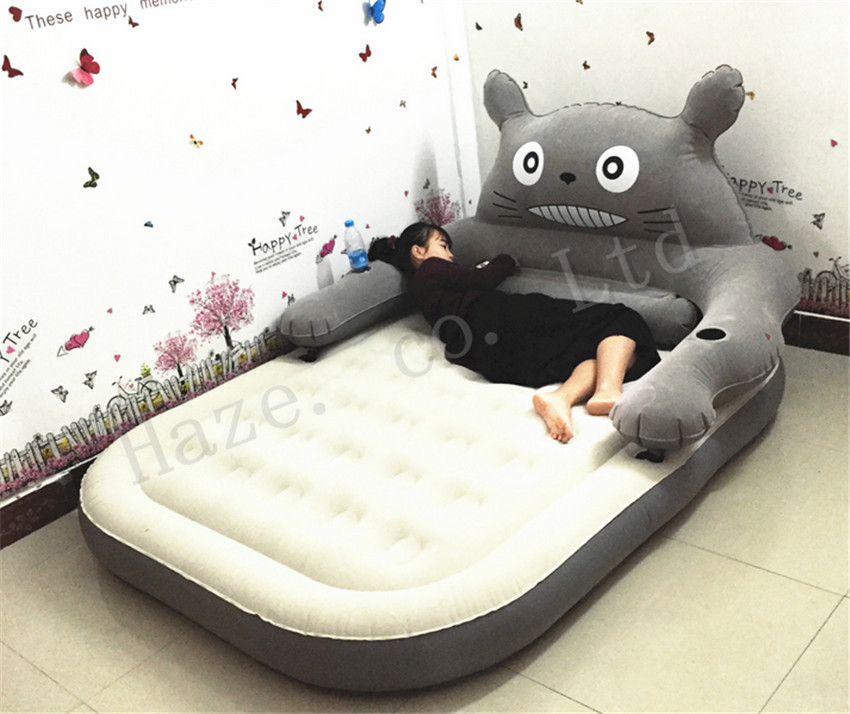 Grand Tatami Totoro grand lit doux paresseux canapé feuille Couple dessin animé maison loisirs tatami canapé