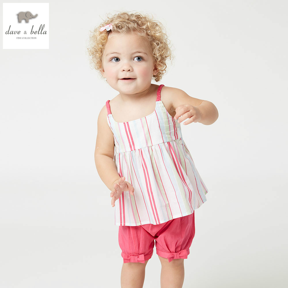 DB4382 dave bella summer baby girls color striped clothing sets kids lovely sets toddle cloth kids sets baby fancy clothesDB4382 dave bella summer baby girls color striped clothing sets kids lovely sets toddle cloth kids sets baby fancy clothes