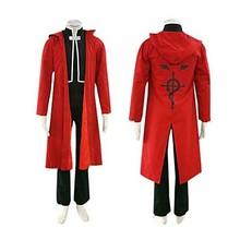 Anime Cosplay Costume Fullmetal Alchemist Edward Elric