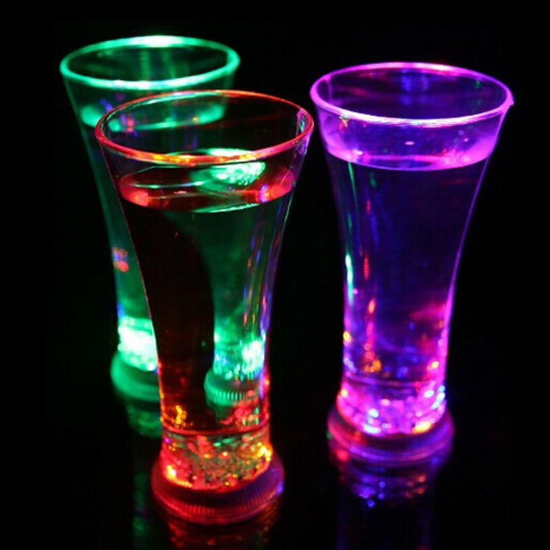 Glowing LED Drink Glasses