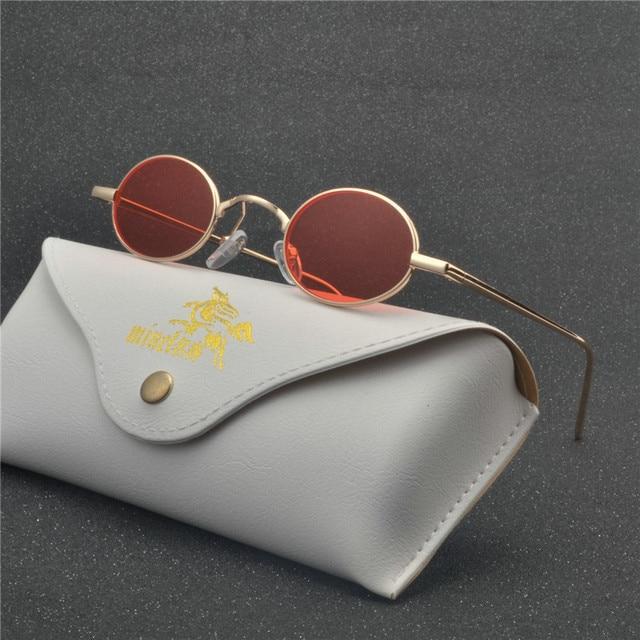 bbe7673d5daf Classic Small Oval Sunglasses Women Men Brand Designer Metal Frame Sun  Glasses Unisex Vintage Eyewear Oval Driving UV400 NX