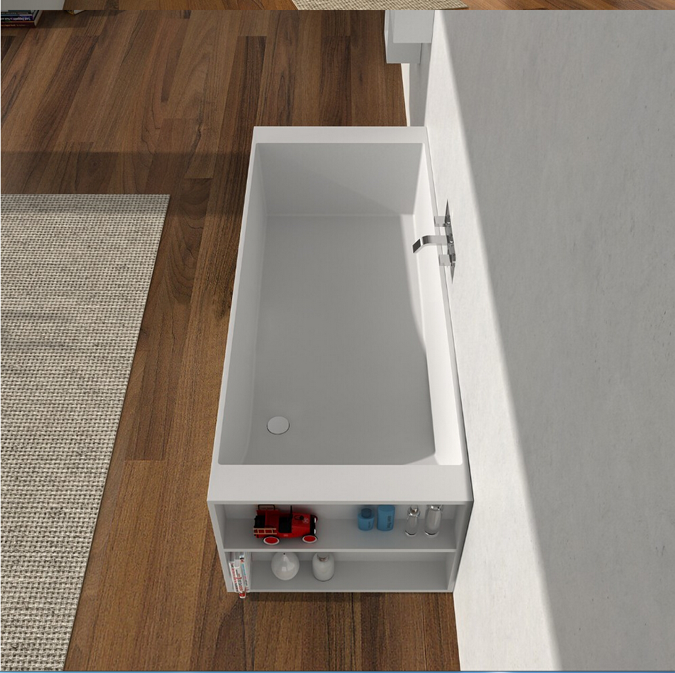 1800x720x570mm Solid Surface Stone CUPC Approval Bathtub Rectangular ...