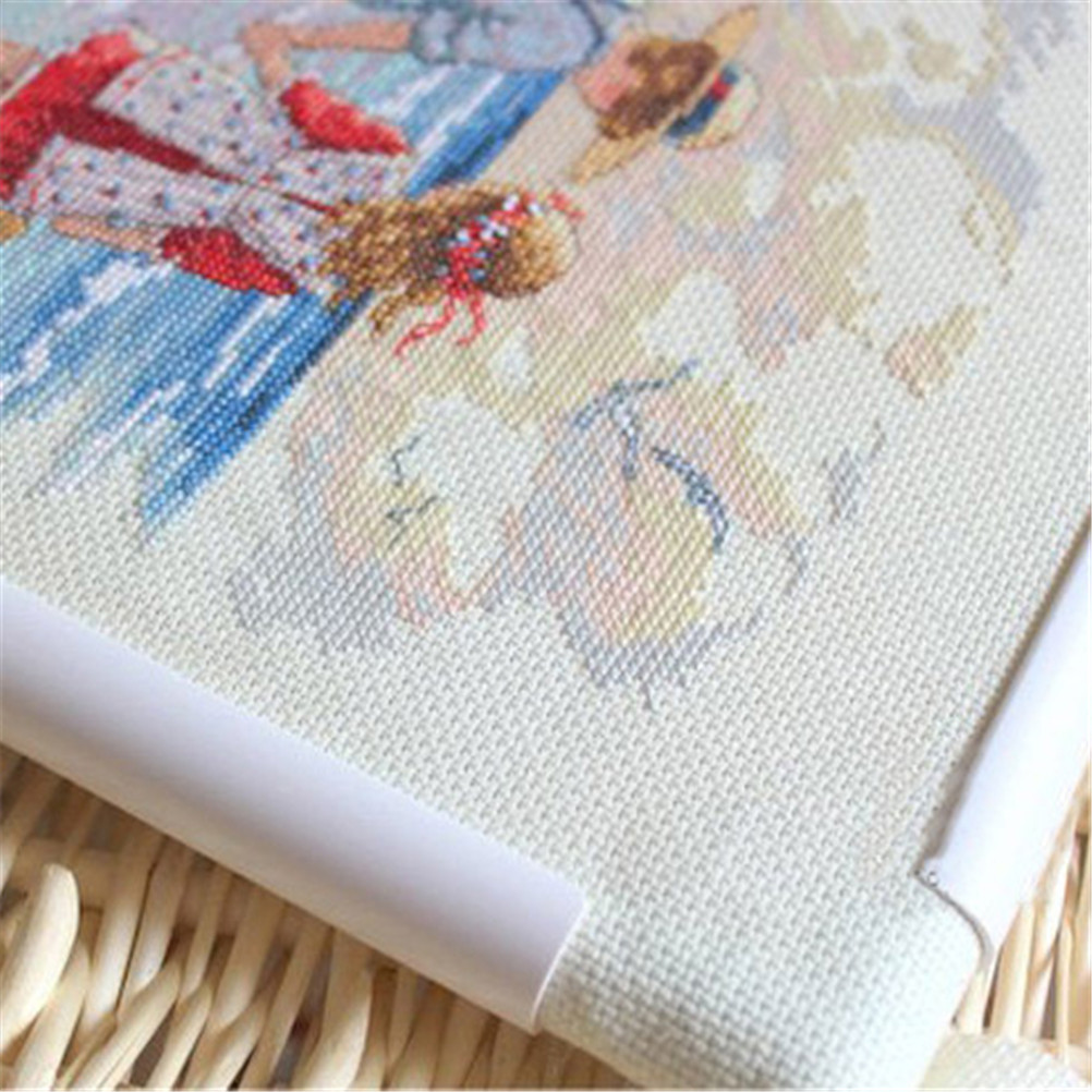 Embroidery Frame Plastic Quilting Frame Sewing Tools Handhold Square ...