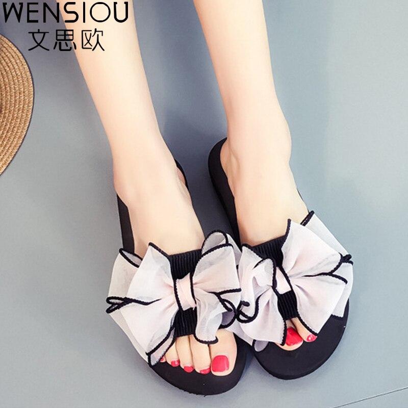 Summer Women Sandals Flip Flop Lady Fashion New Flower Flat Solid Shoes Women Hot Sale Beach Casual Ladies Sandals DBT714