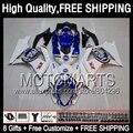 8Gift Lucky Strike  For SUZUKI GSX-R1000 07 08 GSXR-1000 07-08 89JK2 Blue new GSX R1000 GSXR1000 K7 GSXR 1000 2007 2008 Fairing