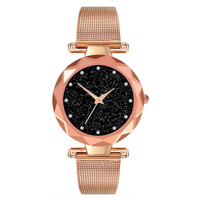 Quartz Wristwatch  Woman Watch  Fashion Luxury Alloy   Women Watches Stainless Steel Mesh Belt  Ladies Watch reloj mujer 19JAN8