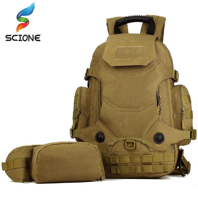 Extérieur chaud 2 Set militaire tactique sacs à dos Camping sacs alpinisme sac hommes randonnée sac à dos voyage sac à dos + taille Pack - 2