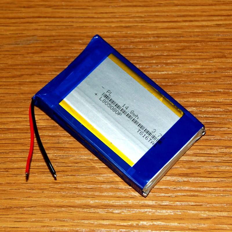 DIY charging treasure mobile power built-in lithium battery 3.7V polymer 165080 core 8000mAh packet post Rechargeable Li-ion Cel brown 3 7v lithium polymer battery 7565121 charging treasure mobile power charging core 8000 ma rechargeable li ion cell