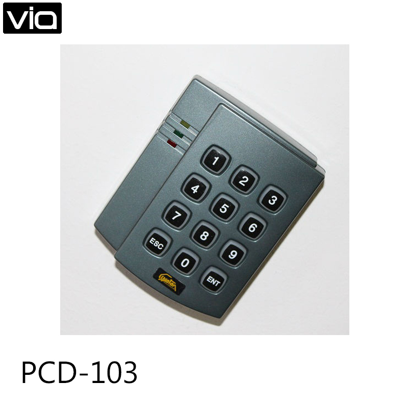 PCD-103 Free Shipping Smart Response Continually 500ms Proximity Time ID card Reader for Access Controller System