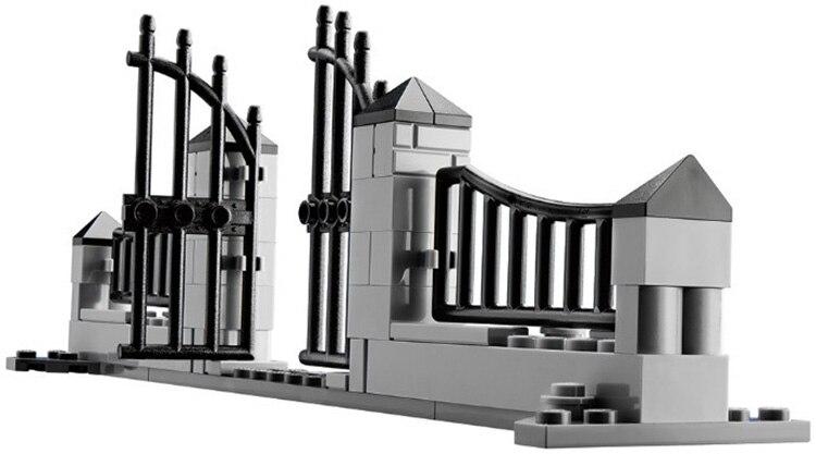 Nouveau LEPIN 16007 2141 pcs Monstre combattant La maison hantée Modèle Kits de Construction Modèle Compatible Avec 10228 legoed - 3