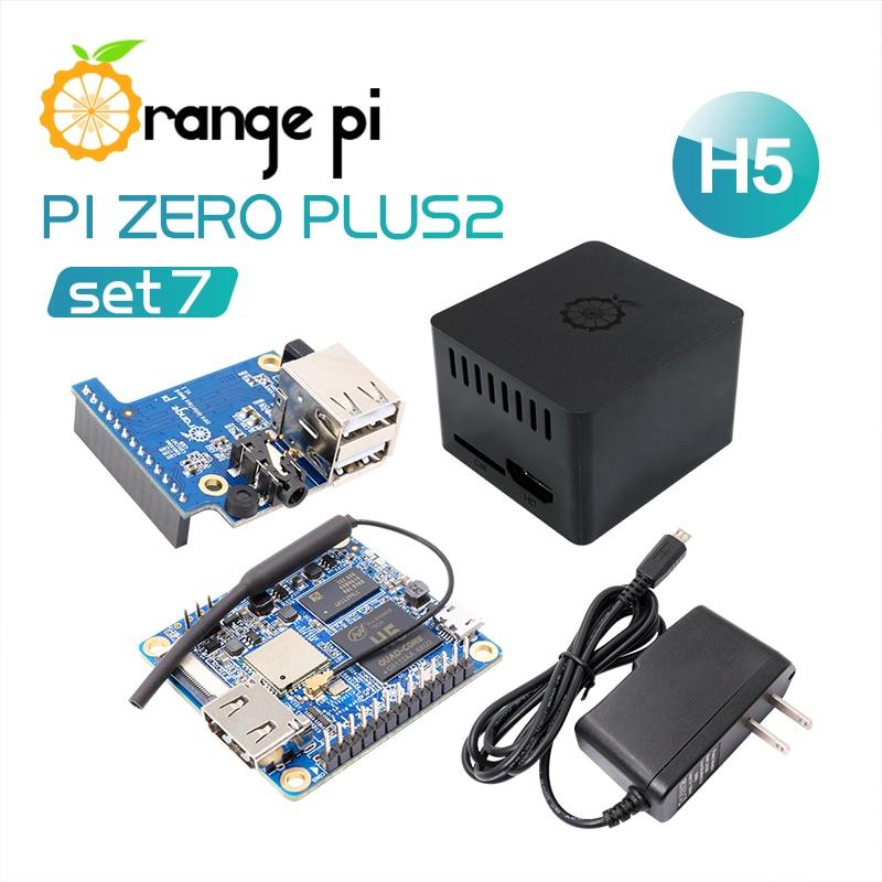 Orange Pi Zero Plus 2 H5 Set 7 Zero Plus 2 H5 Protective Case Expansion Board