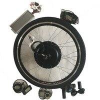 E велосипед 48 В в 1500 Вт двигатель Bicicleta электрические велосипеды eBike Conversion наборы для 20 24 26 700C заднего колеса ЖК дисплей