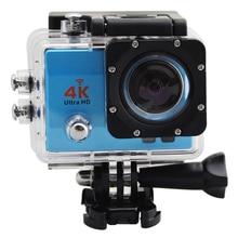 4K Wifi Diving 30m Waterproof Car Helmet Sports WiFi Night Fill-in Light HD Sports Action Camera Cam 2 inch Screen HD 16mp Q3H