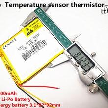 """3 линии 318292 аккумулятор """" для Prestigio Grace 3118 3G PMT3118 Аккумулятор для планшета 3,7 в 4000 мАч полимерный литий-ионный аккумулятор+ отслеживание"""