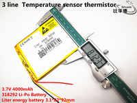 """3 lignes 318292 batterie 7 """"pour Prestigio Grace 3118 3G PMT3118 tablette batterie 3.7 V 4000 mah polymère li-ion + suivi"""