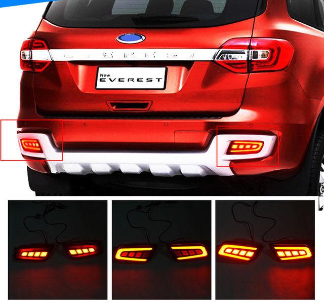 Led Modified Car Rear Bumper Light Reverse Brake Lamp Fit Ford