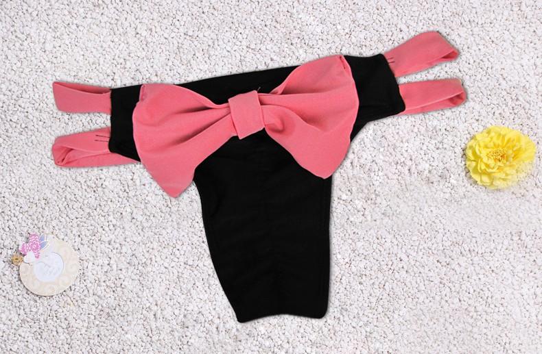 Summer style 17 swimsuit bow bikini bottom cute Swimwear brand biquini bikinis Beach suit women usa brazilian bikini bottoms 17