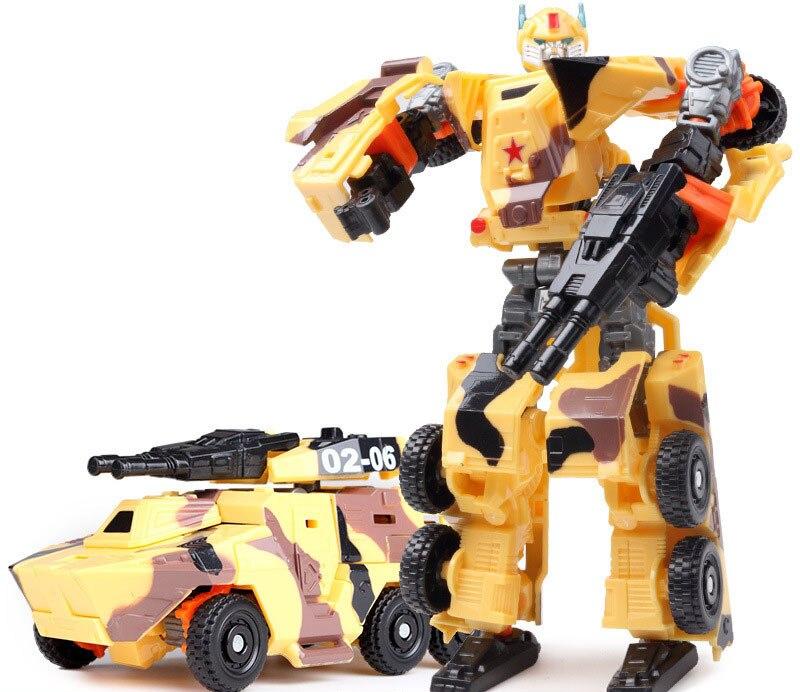 """Лидер продаж 19,5 см модель Трансформация Робот автомобиль экшн игрушки пластиковые игрушки Фигурки игрушки лучший подарок для образования детей 7,5"""" - Цвет: NO.11"""
