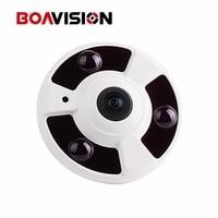 1080P IP Camera (POE) Onvif Fisheye Panorama 5MP Lens IR Night Vision HD Security CCTV Camera 2MP 360 Degree View P2P XMEye V