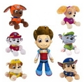 12cm plush toys puppy canine pat pow canina figure action party set everest car Canine Patrol Puppy Patrulla Juguetes dog