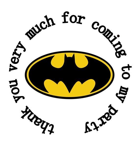 Filme & Dvds Film-fanartikel Batman Logo Sticker Aufkleber
