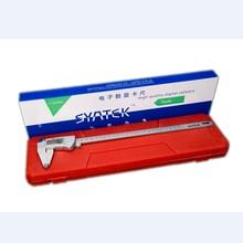 Pied à coulisse numérique étanche IP54, 150mm 200mm 300mm LCD 0.01mm, acier inoxydable, outils de règle de mesure