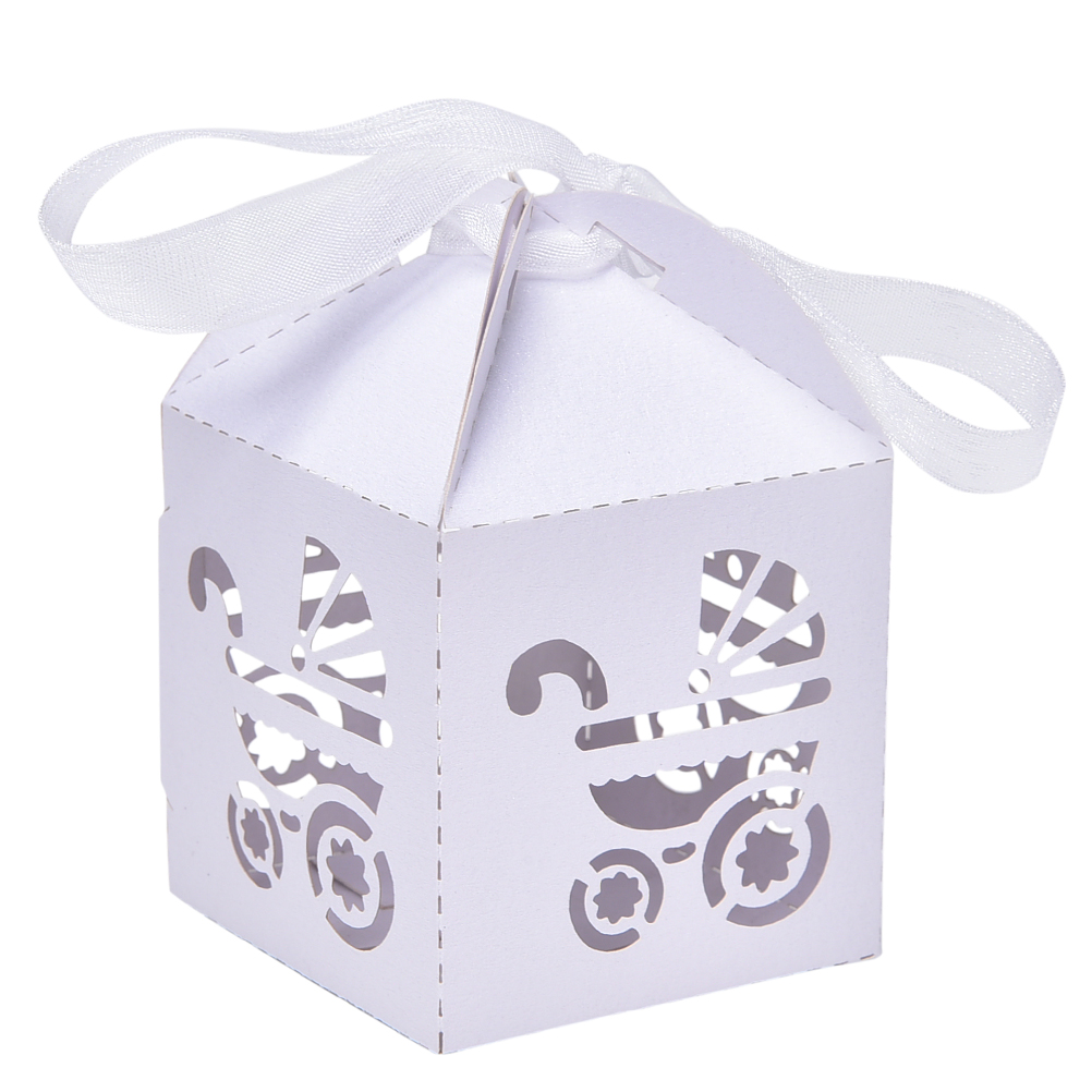 10 pcs Wedding Candy Box Laser Cut Wedding Favor Boxes Casamento ...