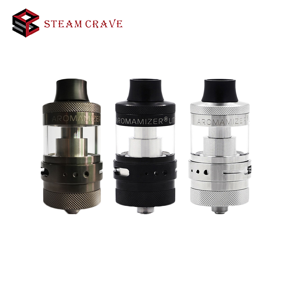 NEW Steam Crave Aromamizer Lite RTA 23mm 3 5ml Capacity with 23mm diameter single Coil Build
