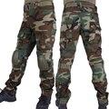 Камуфляжные военные штаны для охоты  мужские брюки-карго BDU  военные армейские камуфляжные штаны для страйкбола  тактические штаны с наколе...