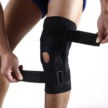 ФОТО adjustable knee support pad patella knee support protector compression sleeve