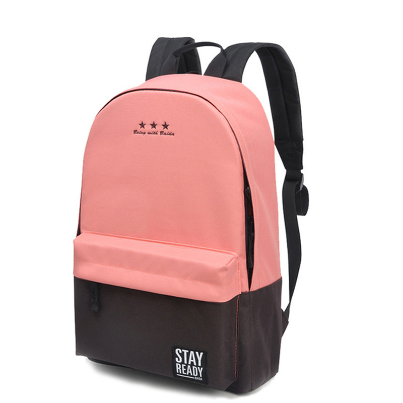 cee1cc7ddc37 US $15.92 50% OFF|Fashion Backpack Women Children Schoolbag Back Pack  Leisure Korean Ladies Knapsack Laptop Travel Bags for School Teenage  Girls-in ...