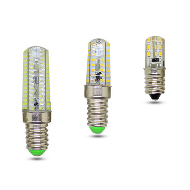<font><b>E14</b></font> Mini AC 220V <font><b>LED</b></font> Silicone Corn <font><b>Bulb</b></font> 3W 5W 9W 12W White light Dimmable Chandelier Replace Halogen <font><b>Lamps</b></font> 20-60W image